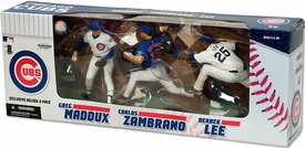 McFarlane Toys MLB Sports Picks Exclusive Action Figure 3-Pack Greg Maddux, Carlos Zambrano & Derrek Lee (Chicago Cubs)