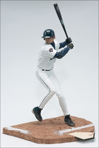 McFarlane Toys MLB Sports Picks Series 1 Action Figure Ichiro Suzuki (Seattle Mariners) White Jersey Clean