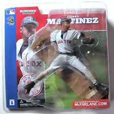 McFarlane Toys MLB Sports Picks Series 1 Action Figure Pedro Martinez (Boston Red Sox) Gray Jersey Variant