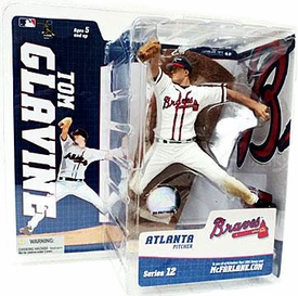 McFarlane Toys MLB Sports Picks Series 12 Action Figure Tom Glavine (Atlanta Braves)