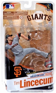 McFarlane Toys MLB Sports Picks Series 26 Action Figure Tim Lincecum (San Francisco Giants) Gray Uniform Only 250 Made!