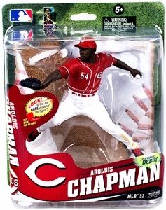 McFarlane Toys MLB Sports Picks Series 32 Action Figure Aroldis Chapman (Cincinnati Reds) Pre-Order ships April