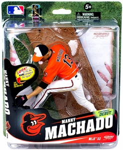 McFarlane Toys MLB Sports Picks Series 32 Action Figure Manny Machado (Baltimore Orioles)  Pre-Order ships April