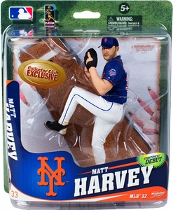 McFarlane Toys MLB Sports Picks Series 32 Collectors Club Exclusive Action Figure Matt Harvey (New York Mets)  Pre-Order ships April