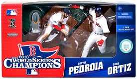 McFarlane Toys MLB Sports Picks World Series Champions Action Figure 2-Pack David Ortiz & Dustin Pedroia