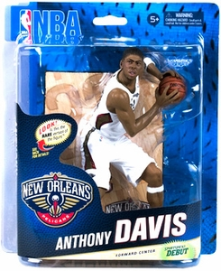 McFarlane Toys NBA Sports Picks Series 24 Action Figure Anthony Davis (New Orleans Pelicans) White Uniform