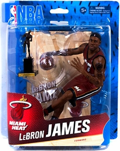 McFarlane Toys NBA Sports Picks Series 24 Action Figure Lebron James (Miami Heat) New!