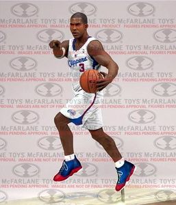 McFarlane Toys NBA Sports Picks Series 25 Action Figure Chris Paul (Los Angeles Clippers) White Uniform Pre-Order ships November