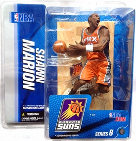 McFarlane Toys NBA Sports Picks Series 8 Action Figure Shawn Marion (Phoenix Suns) Orange Jersey Variant