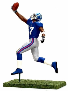 McFarlane Toys NFL 3 Inch Sports Picks Series 5 Mini Action Figure Plaxico Burress (New York Giants)