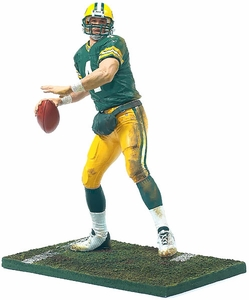 McFarlane Toys NFL Sports Picks 12 Inch Deluxe Action Figure Brett Favre (Green Bay Packers) Green Jersey