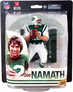 McFarlane Toys NFL Sports Picks 2014 Action Figure Joe Namath (New York Jets) New!