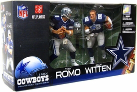 McFarlane Toys NFL Sports Picks Action Figure 2-Pack Jason Witten & Tony Romo (Dallas Cowboys)