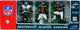 McFarlane Toys NFL Sports Picks Exclusive Action Figure 3-Pack Philadelphia Eagles (Brian Westbrook, Donovan McNabb & Brian Dawkins)