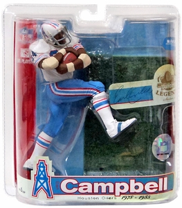 McFarlane Toys NFL Sports Picks Legends Series 3 Action Figure Earl Campbell (Houston Oilers) Blue Jersey