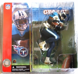 McFarlane Toys NFL Sports Picks Series 1 Action Figure Eddie George (Tennessee Titans) White Jersey Variant