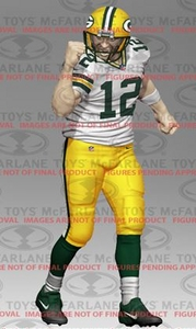 McFarlane Toys NFL Sports Picks Series 34 Action Figure Aaron Rodgers (Green Bay Packers) Pre-Order ships July