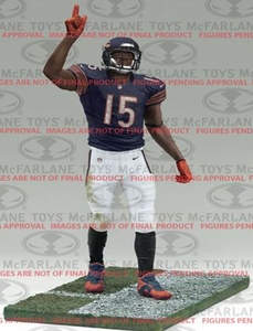 McFarlane Toys NFL Sports Picks Series 34 Action Figure Brandon Marshall (Chicago Bears) Pre-Order ships July