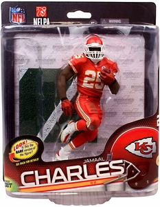 McFarlane Toys NFL Sports Picks Series 34 Action Figure Jamaal Charles (Kansas City Chiefs)