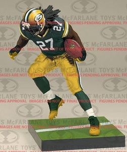 McFarlane Toys NFL Sports Picks Series 34 Action Figure Eddie Lacy (Green Bay Packers) Green Jersey Pre-Order ships August