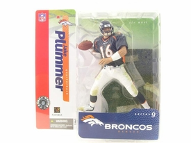McFarlane Toys NFL Sports Picks Series 9 Action Figure Jake Plummer (Denver Broncos) Blue Jersey