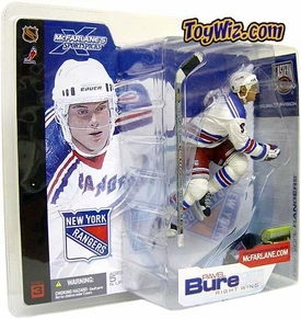 McFarlane Toys NHL Sports Picks Series 3 Action Figure Pavel Bure (New York Rangers) White Jersey Variant Damaged Package, Mint Contents!