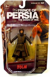 McFarlane Toys Prince of Persia 4 Inch Action Figure Zolm [Lead Hassansin]
