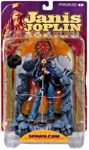 McFarlane Toys Rock n' Roll Action Figure Janis Joplin