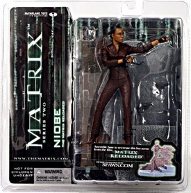 McFarlane Toys Series 2 Matrix Action Figure Niobe [Matrix Reloaded]