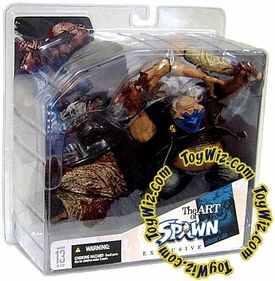 McFarlane Toys The Art of Spawn Collector's Club Exclusive Action Figure Clown 5 (Bloody)