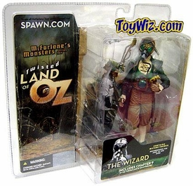 McFarlane Toys Twisted Land of Oz Action Figure Wizard with Scientist