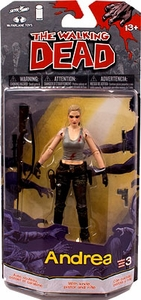 McFarlane Toys Walking Dead COMIC Series 3 Action Figure Andrea Pre-Order ships August