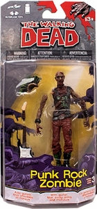 McFarlane Toys Walking Dead COMIC Series 3 Action Figure Punk Zombie Pre-Order ships September