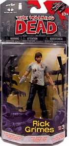 McFarlane Toys Walking Dead COMIC Series 3 Action Figure Rick Grimes Pre-Order ships October