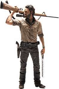 McFarlane Toys Walking Dead TV Series 2 Deluxe 10 Inch Action Figure Rick Grimes Hot! Pre-Order ships November