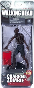 McFarlane Toys Walking Dead TV Series 5 Action Figure Charred Zombie New!