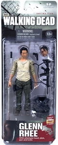 McFarlane Toys Walking Dead TV Series 5 Action Figure Glenn Rhee New Hot!