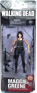 McFarlane Toys Walking Dead TV Series 5 Action Figure Maggie Greene New!