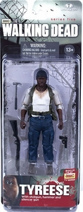 McFarlane Toys Walking Dead TV Series 5 Action Figure Tyreese New!