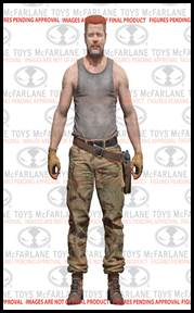 McFarlane Toys Walking Dead TV Series 6 Action Figure Abraham Ford Pre-Order ships October