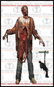 McFarlane Toys Walking Dead TV Series 6 Action Figure Bungee Guts Zombie Pre-Order ships October