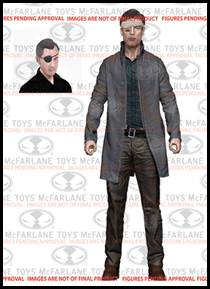 McFarlane Toys Walking Dead TV Series 6 Action Figure Governor with Long Coat Pre-Order ships October