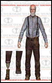 McFarlane Toys Walking Dead TV Series 6 Action Figure Hershel Greene Hot! Pre-Order ships October