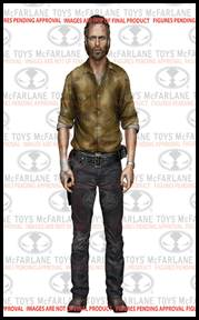 McFarlane Toys Walking Dead TV Series 6 Action Figure Rick Grimes Hot! Pre-Order ships October