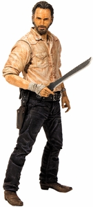 McFarlane Toys Walking Dead TV Series 6 Action Figure Rick Grimes MEGA Hot! Pre-Order ships November