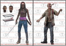 McFarlane Toys Walking Dead TV Series 6 Set of 2 Action Figures [Michonne & RV Walker] Hot! Pre-Order ships October