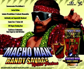 McFarlane WWE Macho Man Randy Savage Resin Statue Pre-Order ships December