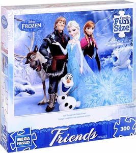Mega Puzzles Disney Frozen 300 Piece Puzzle Friends