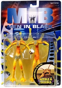 Men In Black Bendable Action Figure Neeble & Gleeble