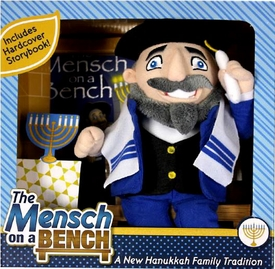 Mensch on a Bench Plush